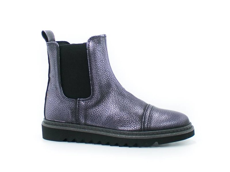 HIP chelsea boot paars leder