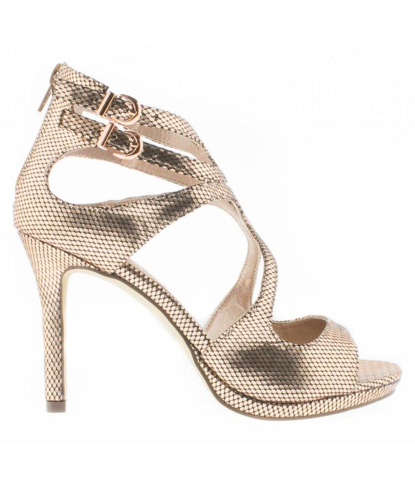 BullBoxer sandalen rose goud