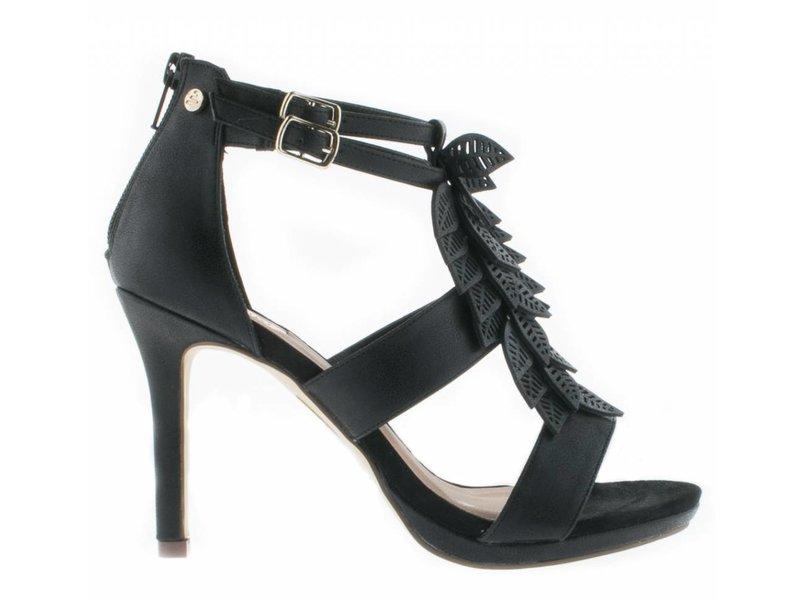 BullBoxer sandalen zwart flower
