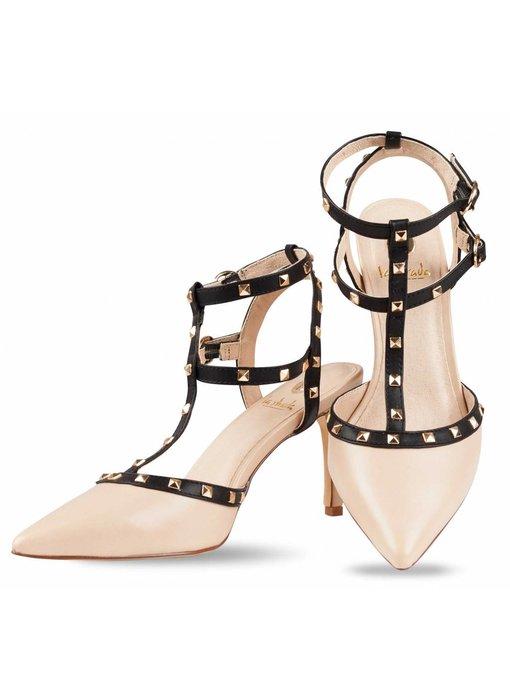 La Strada High heel sandalen met studs