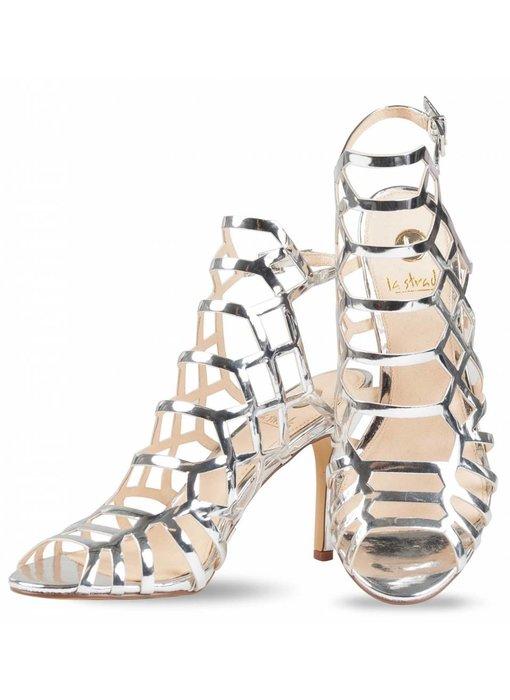 La Strada High heel sandalen zilver