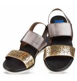 Sandalen goud brons