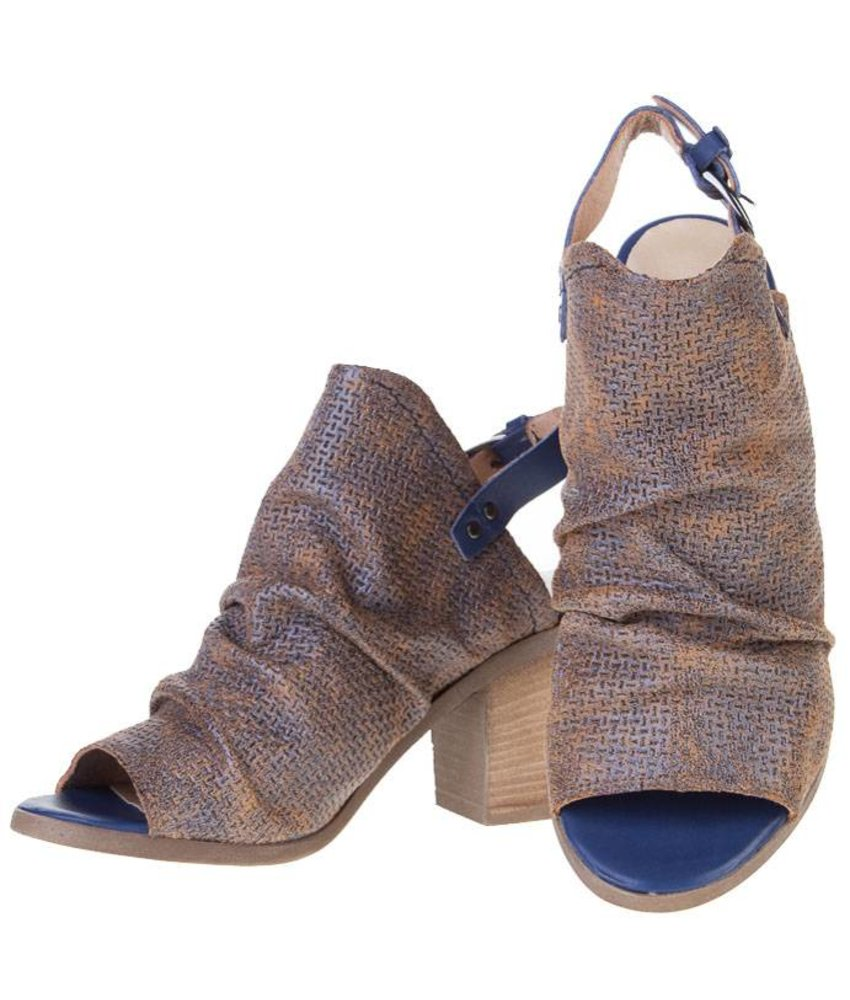 PintoDiBlu sandalen leder vintage bruin