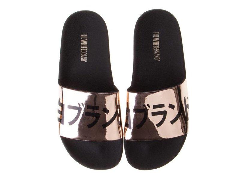 The White Brand slippers metallic Japan