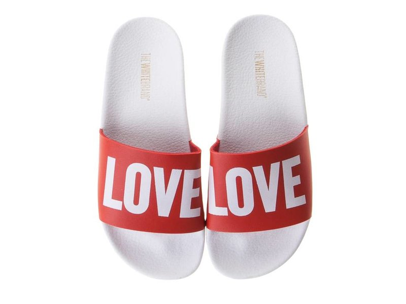 The White Brand slippers rood love