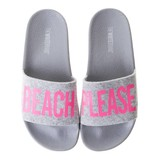 The White Brand slippers roze beach