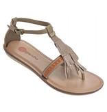 Grendha boho sandal brown