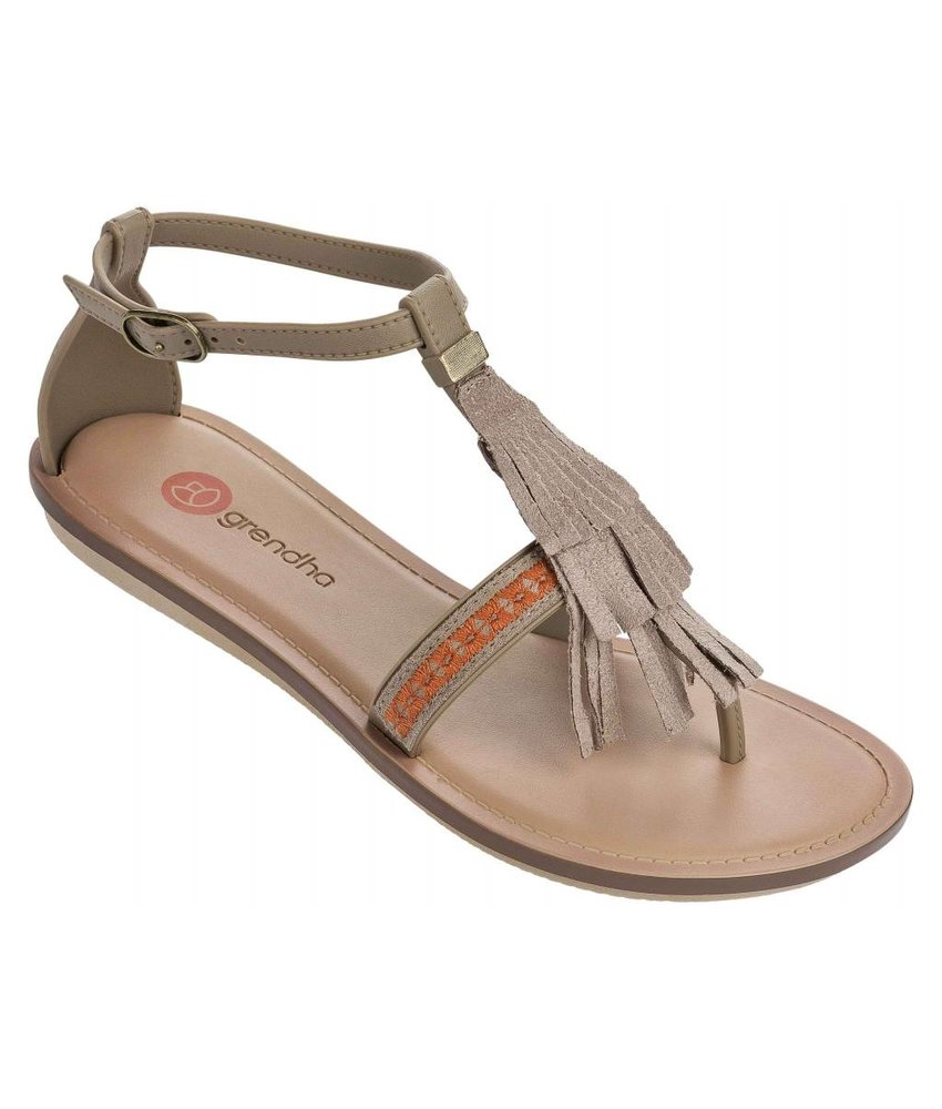 Grendha boho sandal brown