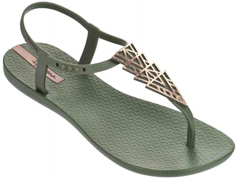 Ipanema charm sandal green