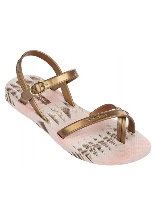Ipanema fashion sandal kids beige/gold