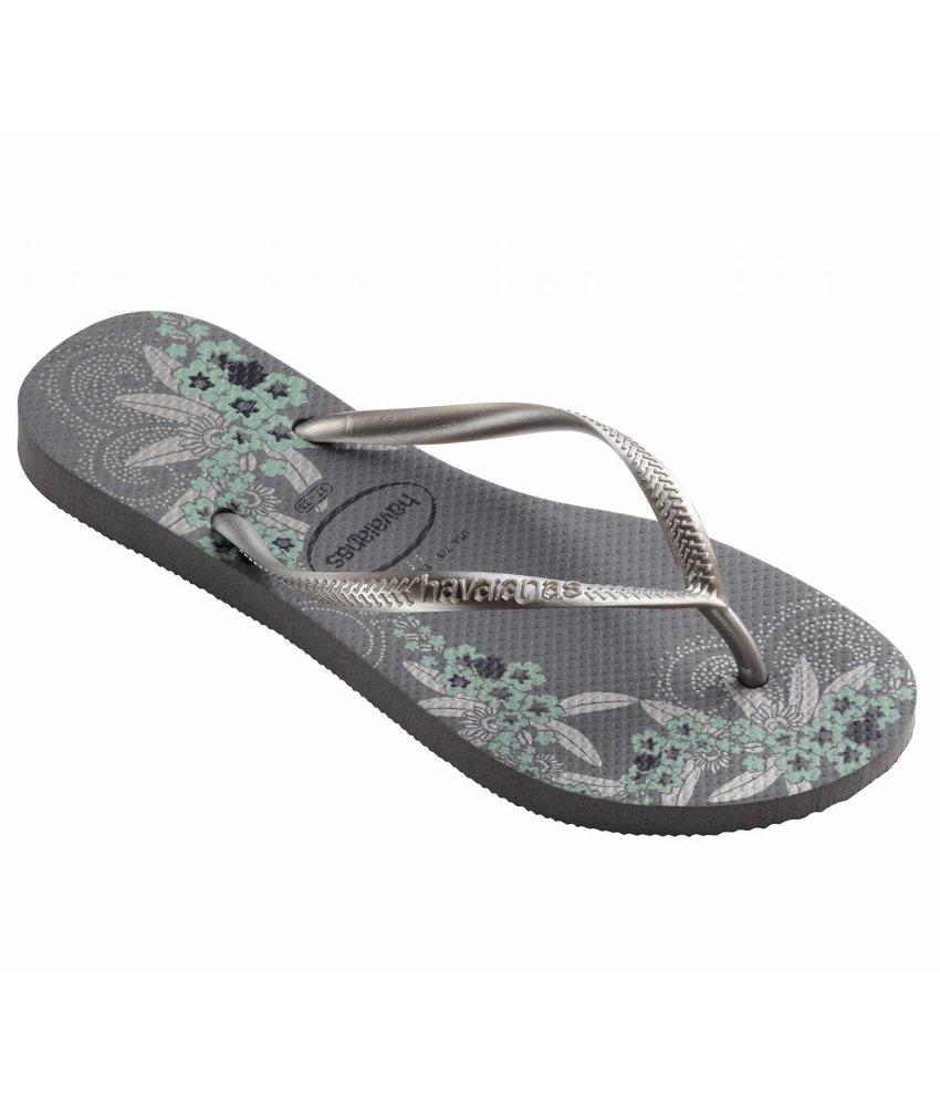 Havaianas slim organic steel grey