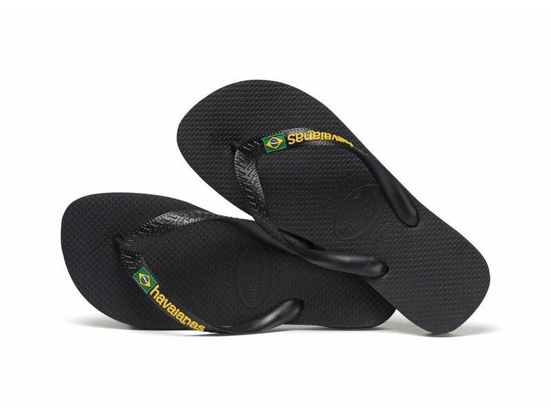 Havaianas brasil logo black