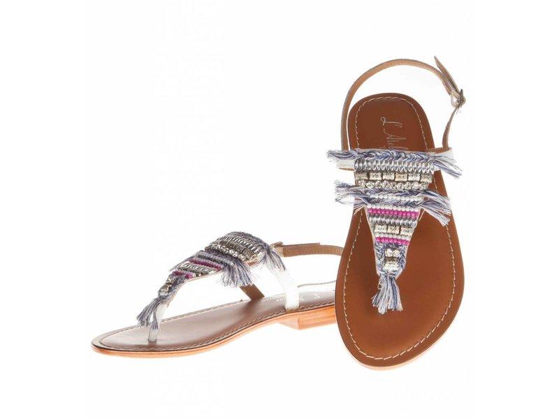 L'Atelier Tropezien sandalen white