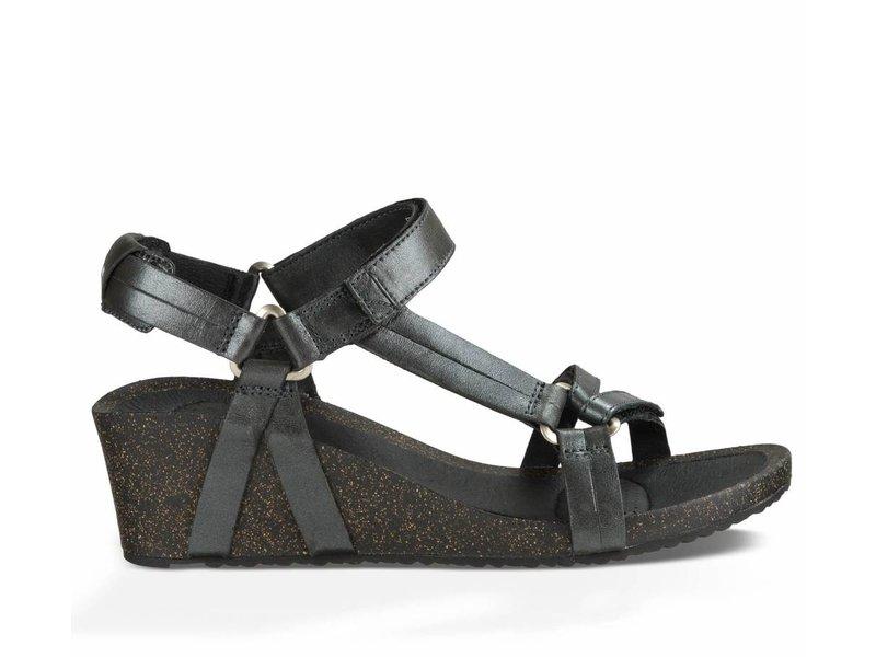 Teva sandalen ysidro wedge metallic