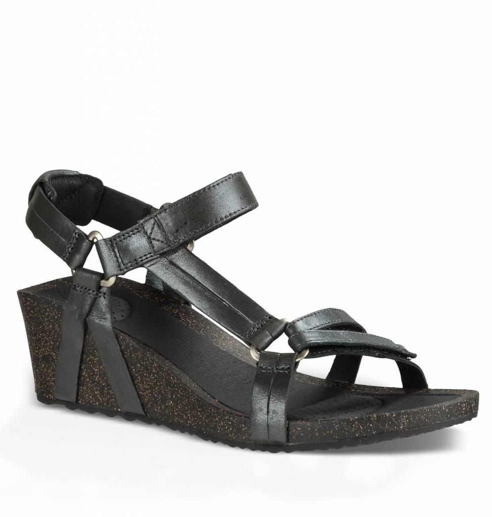 teva sandalen ysidro wedge metallic. Black Bedroom Furniture Sets. Home Design Ideas
