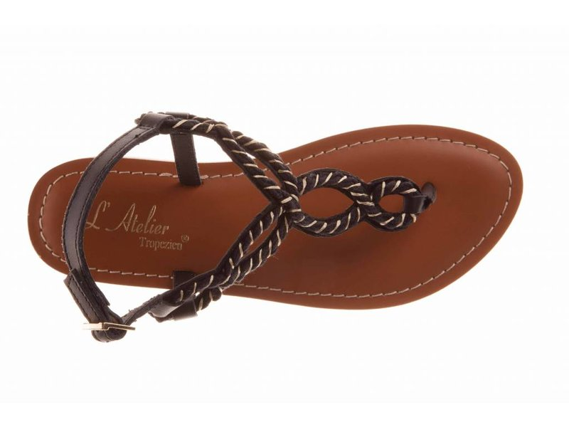 L'Atelier Tropezien sandalen beige