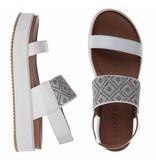 INUOVO sandalen leder wit