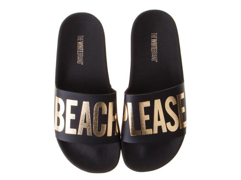 The White Brand slippers beach please