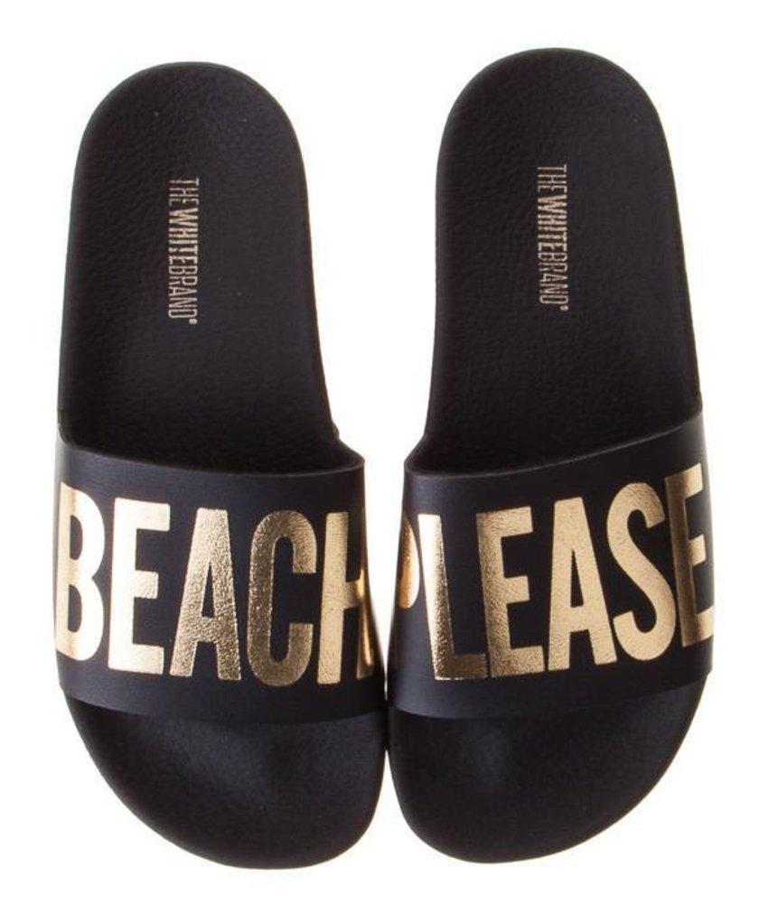 The White Brand slippers beach please kids
