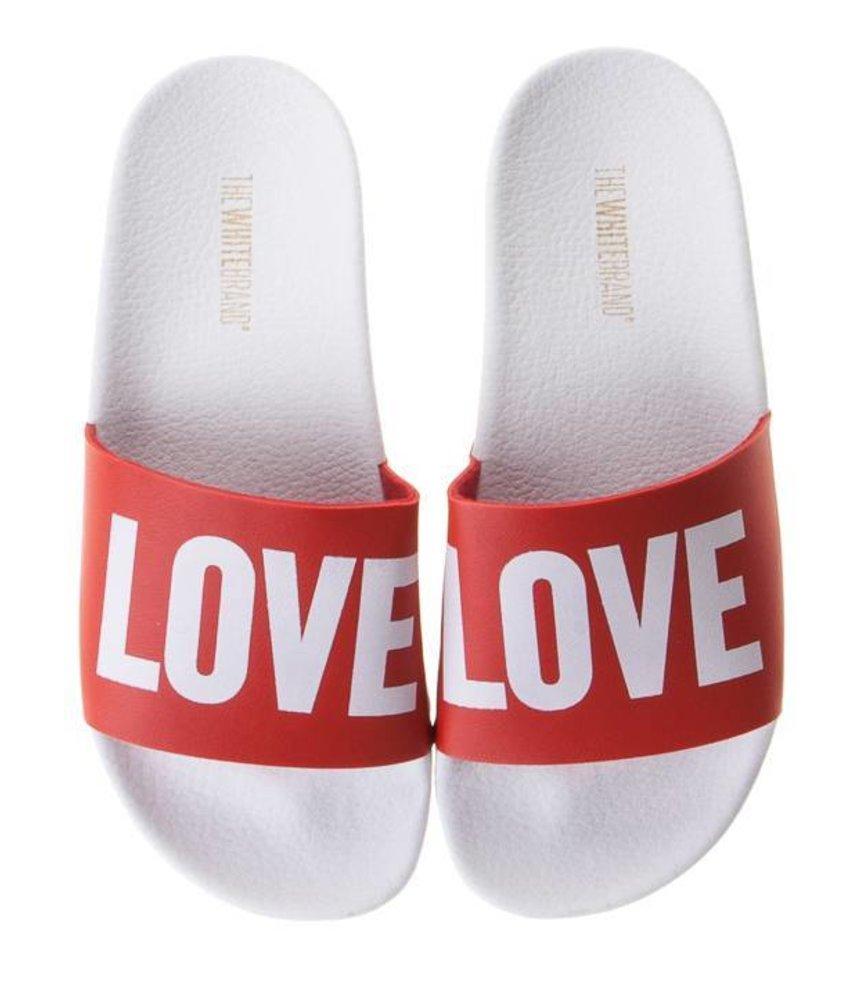 The White Brand slippers love kids