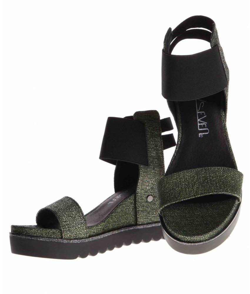 SIXTYSEVEN sandalen khaky