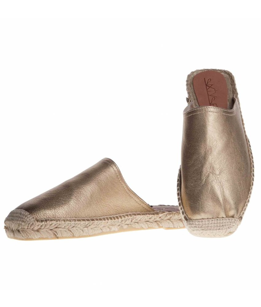 SIXTYSEVEN espadrilles instappers goud