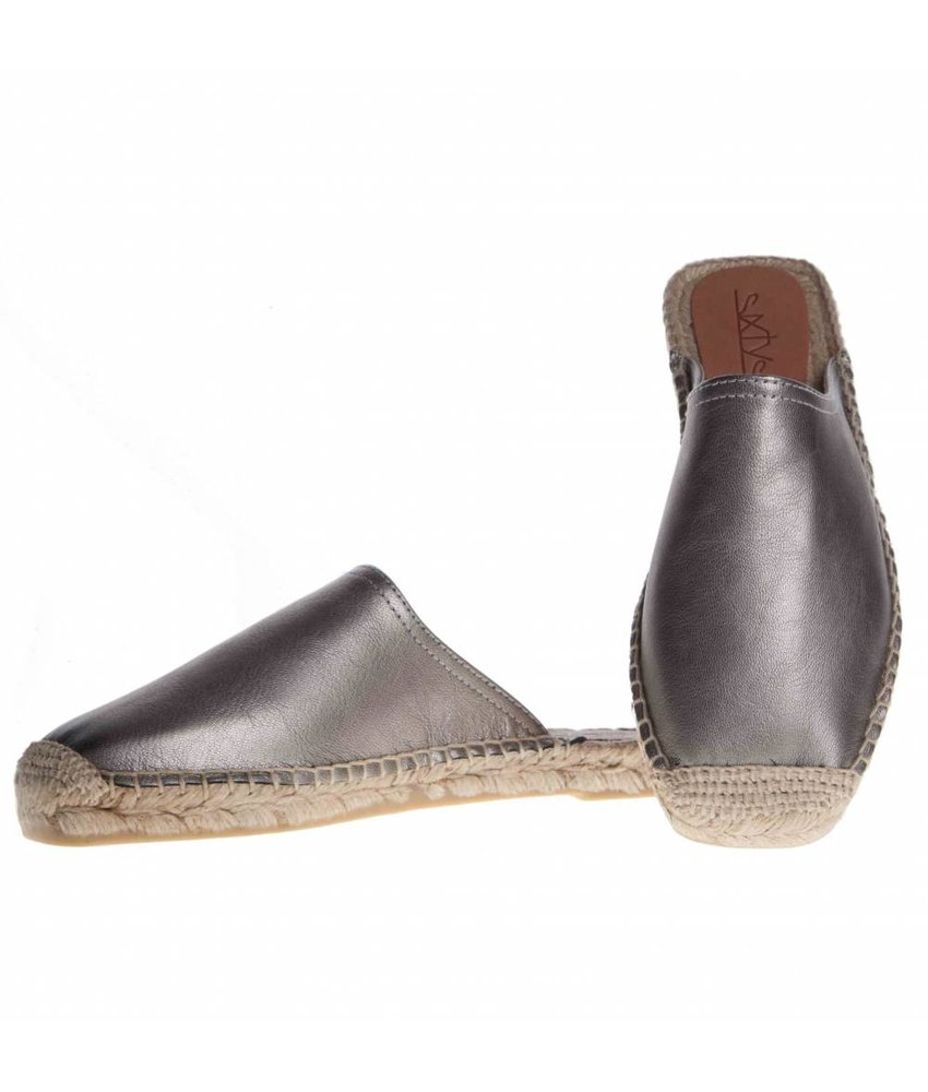 SIXTYSEVEN espadrilles instappers pewter