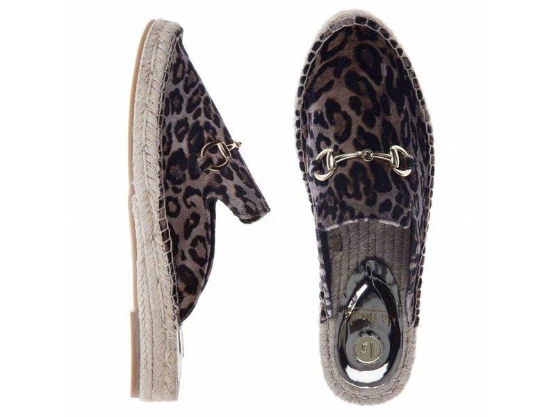 La Strada instappers velvet leopard