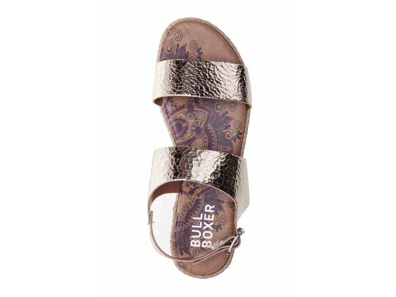 BullBoxer sandalen leder goud