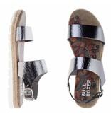 BullBoxer sandalen leder metallic gunmetal