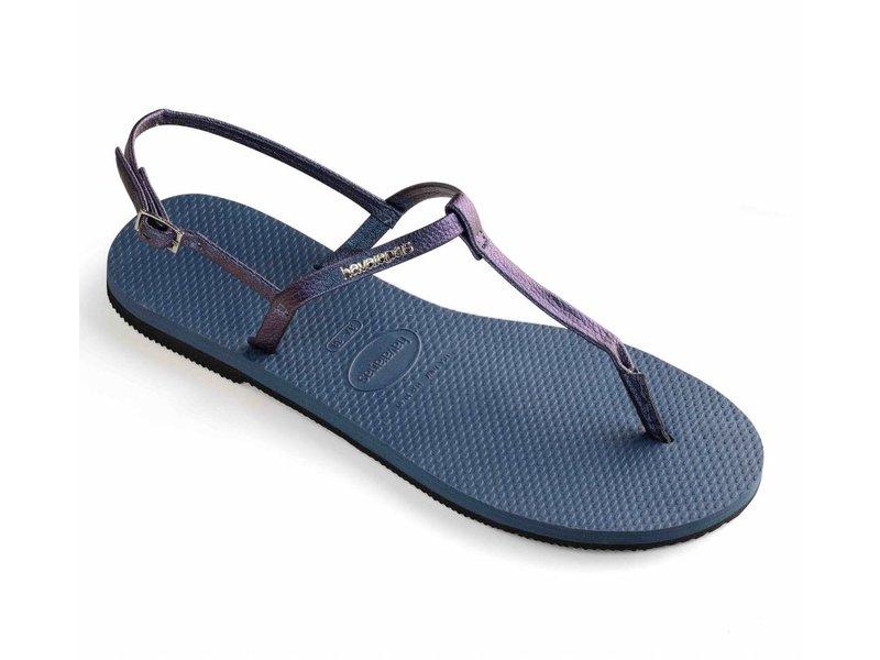 Havaianas you riviera indigo blue