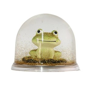 Frosch-Schneekugel