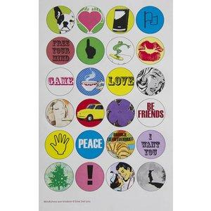 Stickervel voor pubers, HB 4