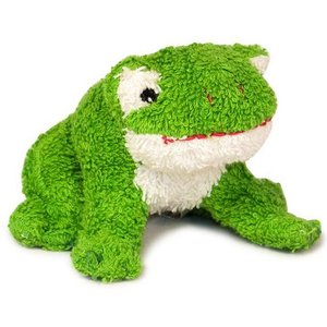 Plush toy frog Kees