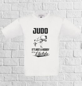 Judo t-shirt wit