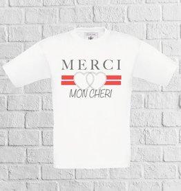 Merci mon cheri t-shirt
