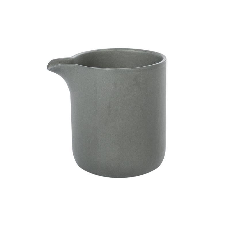 sue pryke small jug - charcoal