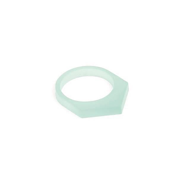 oform ring acrylaat no. 1 | 1.0  glacier green