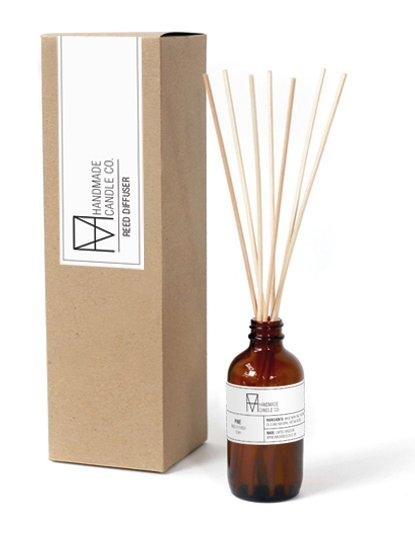 handmade candle co. Reed diffusers Pine