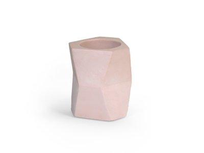 atelier pierre flower pot - poederroze