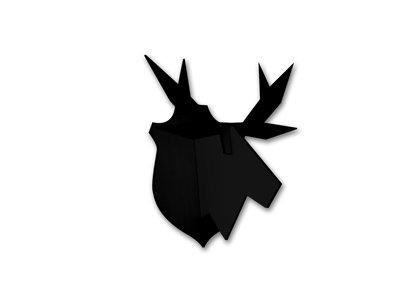 Atelier Pierre  noRdic  hangende  Eland puzzel  - zwart