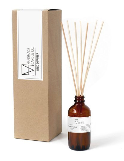 handmade candle co. Reed diffusersAmber & Musk