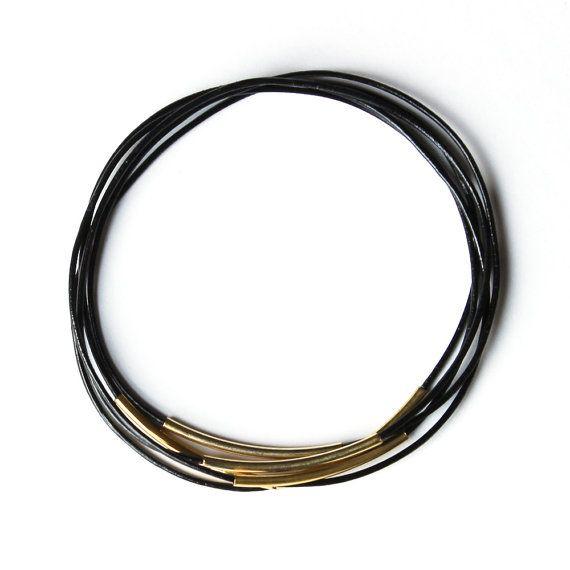 Afgestoft armband juul - zwart