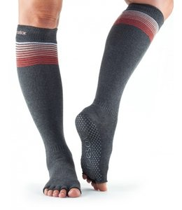 ToeSox Half-Toe with Grip SCRUNCH Knee-High in: Sunset