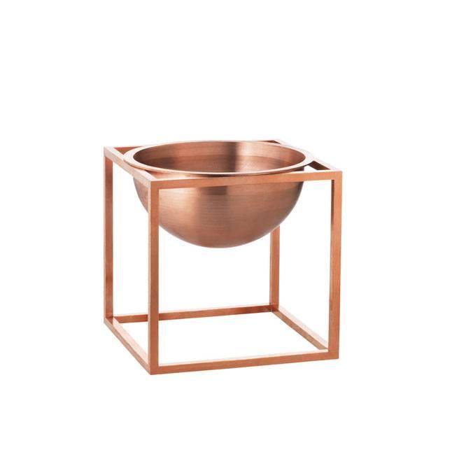 by lassen kleine kubus bowl koper kopen nordic blends. Black Bedroom Furniture Sets. Home Design Ideas