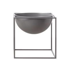 By Lassen grote schaal Kubus Bowl grijs