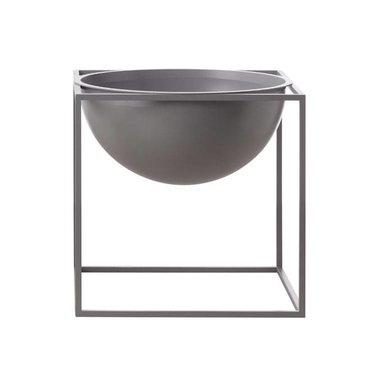 By Lassen Kubus Bowl large cool grey