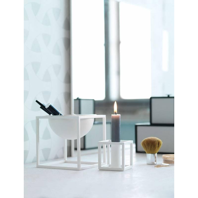 witte schaal kubus bowl small van by lassen kopen nordic. Black Bedroom Furniture Sets. Home Design Ideas