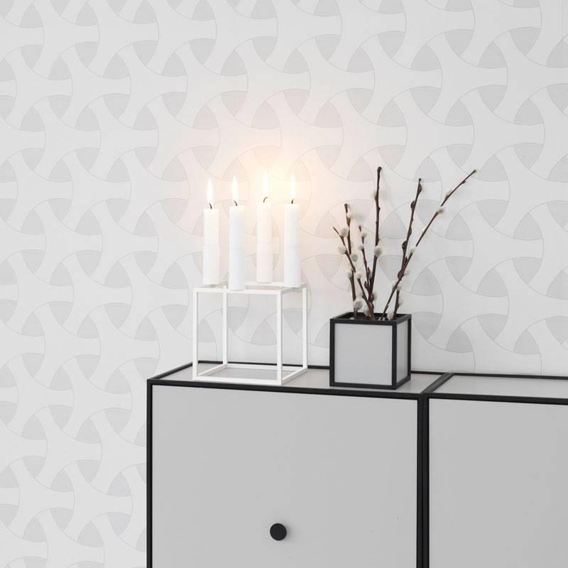 kandelaar kubus 4 wit nordic blends. Black Bedroom Furniture Sets. Home Design Ideas