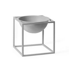By Lassen Kubus Bowl small grey